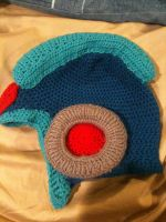 Megaman X Hat by SweetNerdyCakes
