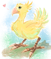 Chocobo by CherryInTheSun