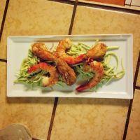 Shrimp with Remoulade by ThomasVo