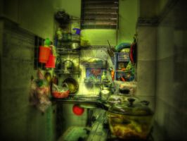 Kitchen HDR by lotring