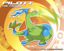 Pilott the Flygon by super-tuler
