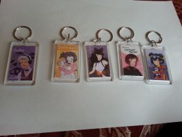 Christmas Keychains 2 by XWorld-DOMInationX