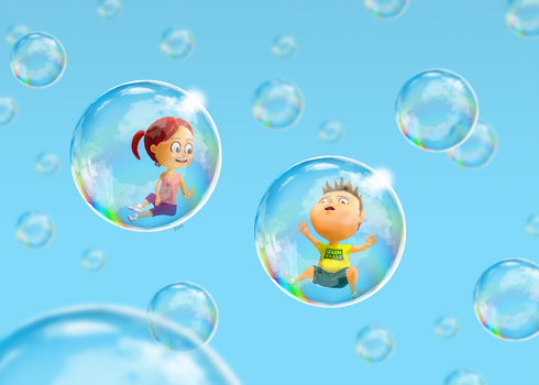 Bubble Ride by Sho79