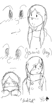 Jamie Peters Sketches by Choco-la-te