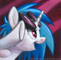 Square Series - Vinyl Scratch / Dj Pon3 by sophiecabra