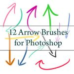 12 Arrow Brushes - PS7 and CS3 by myukiori
