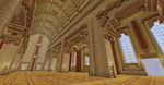 Romanesque Cathedral Interior by skysworld