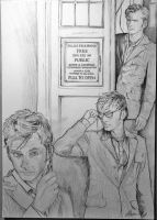 Doctor Who - David Tennant by Eirene-pax
