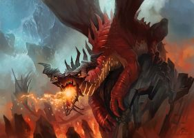 Red Dragon by GuzBoroda