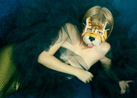 Golden dog by androgenio