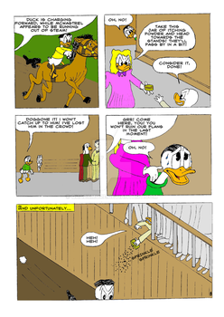 The Life and Times of Tzatzikis Duck (8th page) by Quackmore