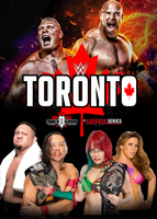 WWE Toronto Poster by pm58790