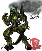 Kaiju Wars: Talos by Blabyloo229