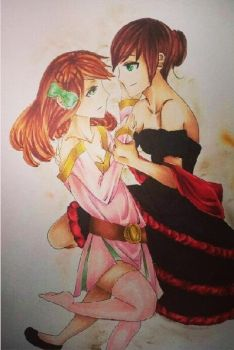 dance with me sway with me WIP by RomaVargas