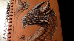 Daily sketch Dragon by gailee