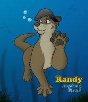 Randy the Pirate Otter by CodeFly