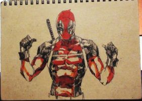 deadpool by Arrrkal