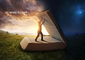 His Word is light by kevron2001