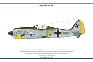 Fw190A4 JG1 1 by WS-Clave