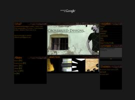 Crossbreed Designs Site by littledarksprite