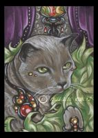 Bejeweled Cat 38 by natamon