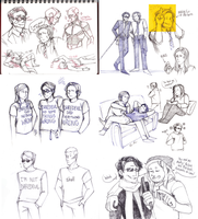 old daredevil doodles by DoYouLikeKetchup