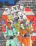 Ghostbusters pin up by Marvin000