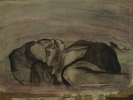 laying there... by scullylam