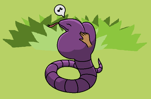 Arbok doodle by Thumbtack-of-Ichan