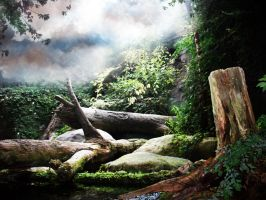 Fantasy Background two by Pickyme