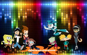 nicktoons wallpaper by sibred