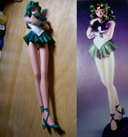 Sailor Neptune Compare by HeiKurashi