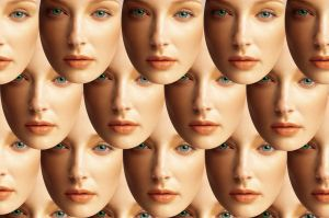 Rows of faces by muffinn2