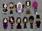 Goth [stereo] Types - Natural Skin Tones by Trellia