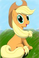 Photogenic Applejack by WonderSkoo