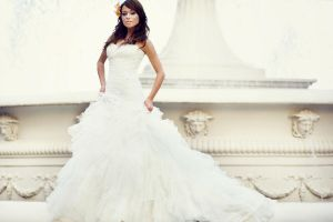 weding dress by lucastomaszewski