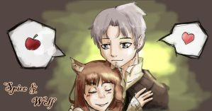 Spice and Wolf by KanashiGD