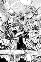 Megatron Issue 2 Page 1 by UdonCrew