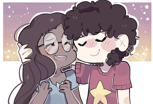 Steven And Conny - steven universe by thesheepdraws