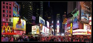 Times Square by DarthIndy