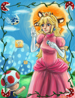 St. Princess Peach by kila-ibyao
