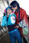 KoujakuxAoba -  Seeing myself into your eyes by AlexysCosplay