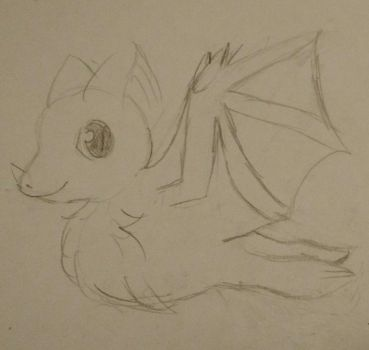 Mexican Long Nosed Bat by Paige-the-unicorn