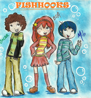 Fish Hooks by punkies13
