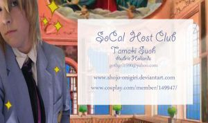 SoCal Host Club business card by Shojo-Onigiri