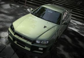 R34 at Kyoto 2 by nuttbag93