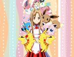 .: More Asuna and Pokemon :. by Sincity2100