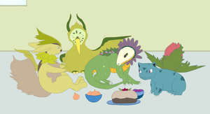Let Them Eat Cake by Badthingteddy