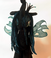 Queen Chrysalis Front View by WhiteHeather