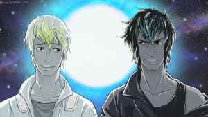 Abel and Cain-starfighter-coloured by chwee